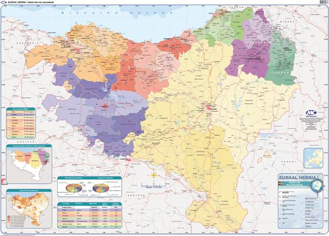 Mapa Euskal Herria Pueblos.Euskal Herria Mapa Detraiteurvannederland